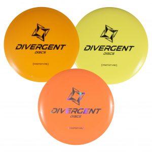 Divergent Discs 3 Disc Prototypes